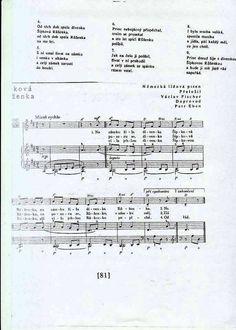 Šípková Růženka Sheet Music, Songs, Music Sheets