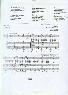 Šípková Růženka Sheet Music, Songs, Song Books, Music Sheets