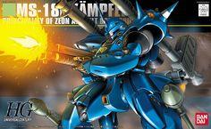 """Bandai Hobby HGUC HG 1/144 #89 Kampfer """"Mobile Suit Gundam: 0080"""" Model Kit"""