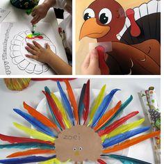 Thanksgiving Ideas for Kids - Free Thanksgiving games, free Thanksgiving coloring pages, & Easy Thanksgiving kids craft ideas