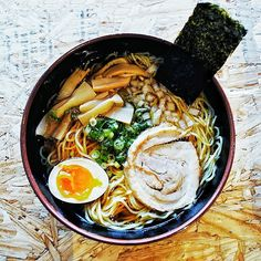 Ramen Tatsu-Ya is a local favorite with its Japanese soul food. Featured on MetroPopArt Austin, it is located at 8557 Research Blvd.