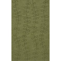 Dalyn Rug Co. Bella Green Area Rug Rug Size: 6' x 9'