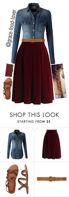"""Lunch w/ Family"" by grace-food-lover1 ❤ liked on Polyvore featuring LE3NO, Chicwish, Gap, Dorothy Perkins and MICHAEL Michael Kors"