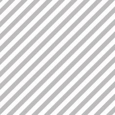 Diagonal Stripe Chinchilla - honey&fitz - Spoonflower