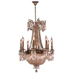 You'll love the Winchester 12 Light Crystal Chandelier at Wayfair - Great Deals on all Lighting  products with Free Shipping on most stuff, even the big stuff.