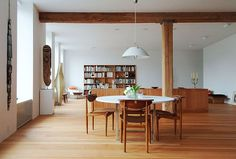 modern interior mid century