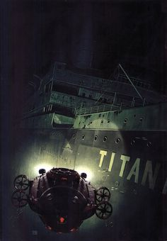 Titanic awesome rendering