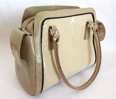 Next Beige Purse Large Ladies Handbag Bag Women Vintage Authentic FREE SHIPPING #Next #Handbag