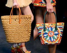 Moda prewiew international #bags #rafia