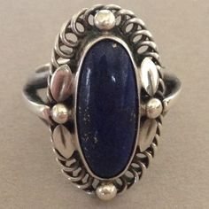 Georg Jensen Ring with Lapis Lazuli, no. 1 image 2