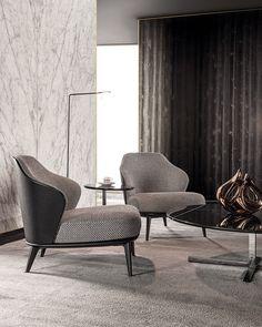 Sofa Design, Design Furniture, Interior Design, Summer Deco, Minotti Furniture, Single Couch, Living Room Furniture, Home Furniture, Gio Ponti