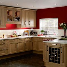 Burlington kitchen from Homebase Helping to Make Your House a Home Kitchen Furniture, Kitchen Dining, Kitchen Cabinets, Dining Room, Home Id, Elegant Kitchens, Natural Wood Finish, Traditional Kitchen, Kitchen Styling