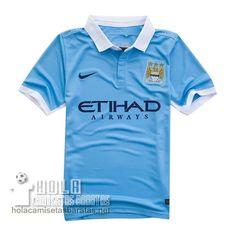 Camiseta Primera Manchester City 2015-16  €15.5