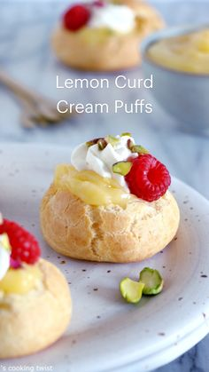 Lemon Curd Dessert, Fruit Dessert, Lemon Desserts, Eat Dessert First, Lemon Recipes, Tea Recipes, Sweet Recipes, Baking Recipes, Elegant Desserts
