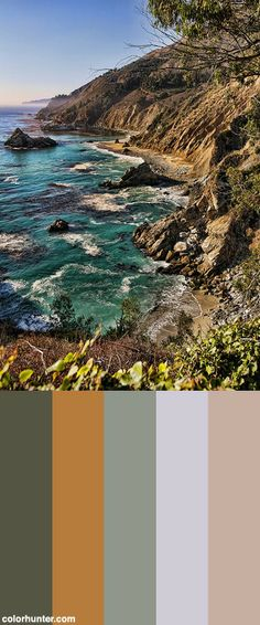 Along The Coast Color Scheme