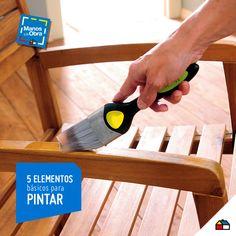 ¡Al momento de pintar, ten todas las herramientas a la mano! #Sodimac #Homecenter #decoración #ideas #inspiración #casa #hogar #herramientas #pinturas #ambientes #ManosAlaObra #DIY #inspiration #homedecor