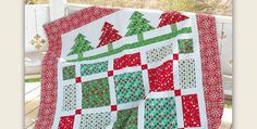 Will be Gorgeous in Other Colors for Summer Cabins! Put everyone in the holiday spirit with this festive lap quilt. It will be lovely draped over the sofa for snuggling during cool evenings and will lend a note of cozy Christmas cheer. Select a variety of holiday fabrics to show off and add a row …