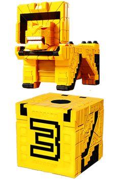 Zyuoh Cubes - Doubutsu Sentai Zyuohger   Super Sentai Central Power Rangers Toys, Power Rangers Ninja Steel, Power Ranger Cake, Ranger Armor, Anime Cake, Avengers Superheroes, Cute Japanese, Marvel Art, Spaceships