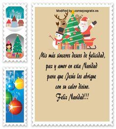 mensajes para enviar en Navidad, poemas para enviar en Navidad:  http://www.consejosgratis.es/originales-mensajes-de-navidad-para-un-ser-querido/