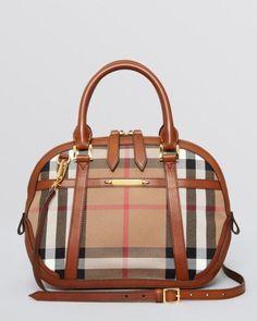 d68fa66833ad17 Burberry Satchel - Small House Check Sartorial Orchard | Bloomingdales's  #Burberryhandbags Burberry Handbags, Prada