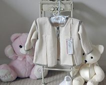 Ravelry: Baby jacket with front pleats - P003 pattern by OGE Knitwear Designs