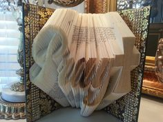 Hey, I found this really awesome Etsy listing at https://www.etsy.com/listing/236606091/pray-folded-book-home-decor-friend-gift