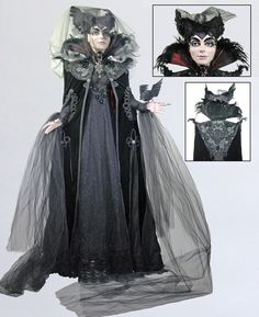 """This is the most amazing Life-sized Doll Katherine's Collection has ever created.  This Sorceress measures 72"""" tall.  She is full of detail, beads, & Jeweled accents.  You will not find a better Display piece anywhere."""