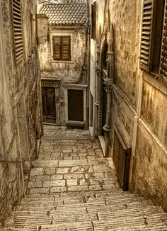 Streets of Sibenik