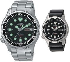 NY0040-50E - CITIZEN PROMASTER AUTOMATIC DIVERS WATCH + RUBBER $169 43mm Diameter, 13mm Thickness, 96g Weight