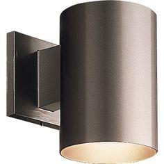 Progress Lighting Incandescent Cylinder 1 Light Outdoor Wall Lantern & Reviews | Wayfair