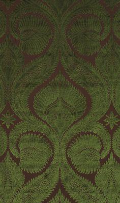 Dryden Velvet - Curtain and upholstery fabric from Osborne & Little