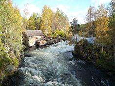 Watermill @ Pieni Karhunkierros, Oulanka National Park
