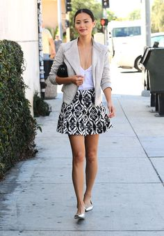 Style: Jamie Chung: Fashion by the little fish waysify