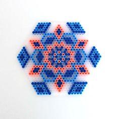 Coaster perler beads by Melanie - bliss bloom {blog}