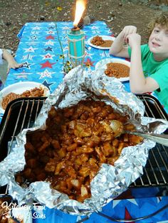 Easy Chicken Potato Barbecue Hash & Other Camping Food Ideas!