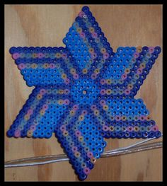 Perler Pinwheel by margieelisabeth,