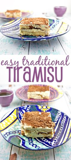 Easy Traditional Tiramisu: Whip up a delicious batch of easy traditional tiramisu in mere minutes - no baking necessary. Create your own Italian delicacy at home! {Bunsen Burner Bakery}: