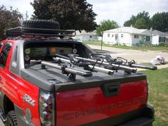 Luggage Rack Chevy Avalanche   Google Search