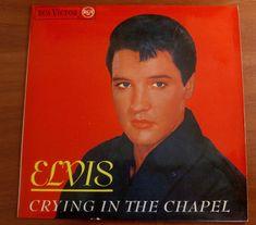 "7"" ELVIS PRESLEY *CRYING IN THE CHAPEL+3 - PB 49659 (3-20919) -  Spain -"