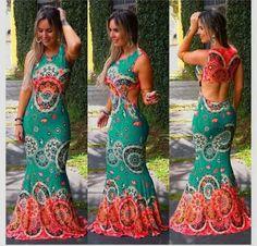 Vestido Sereia 45 - Moda Feminina
