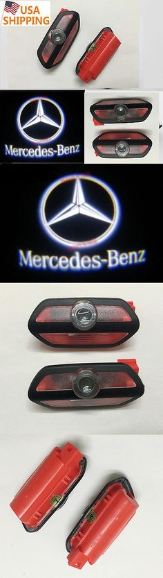 Motors Parts And Accessories: 2017 2Pcs Ghost Led Door Step Courtesy Shadow Laser Light Mercedes S-Class 14-16 -> BUY IT NOW ONLY: $45 on eBay!