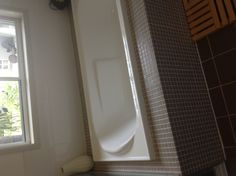 more of the tiles - but I also like the ledge around the bath