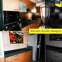 ‪#‎Modularkitchen‬ with parallel platforms, well-organized design for a small to medium sized kitchens. This one was designed by ‪#‎KitchenStudio‬ for its client Sweety Kohlin ‪#‎Mumbai‬