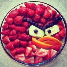 Healthy Food <3 Fruits - Angry Birds Food!