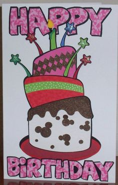 a fun birthday file from Duckys Designs.