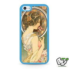Alphonse Mucha Art Nouveau iPhone 5C Case