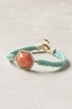 anthro pulp stone bracelet