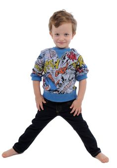 @Rock Your Baby Super Boy sweatshirt