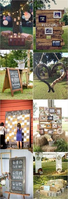 rustic country wedding decor ideas / http://www.deerpearlflowers.com/country-rustic-wedding-ideas/ #rusticweddings