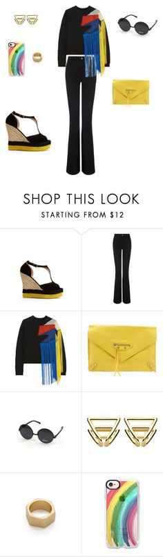 """Colorful pride month..."" by sebolita ❤ liked on Polyvore featuring M.i.h Jeans, Christopher Kane, Balenciaga, COOPS London, Giles & Brother, Casetify, contest, pride, polyvorecontest and waystowear"